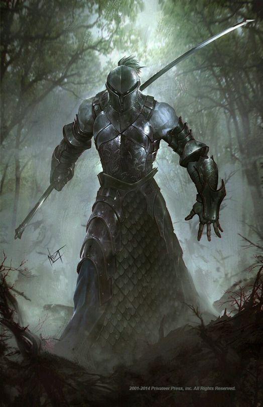 Entidade Antiga - O espadachim da Floresta