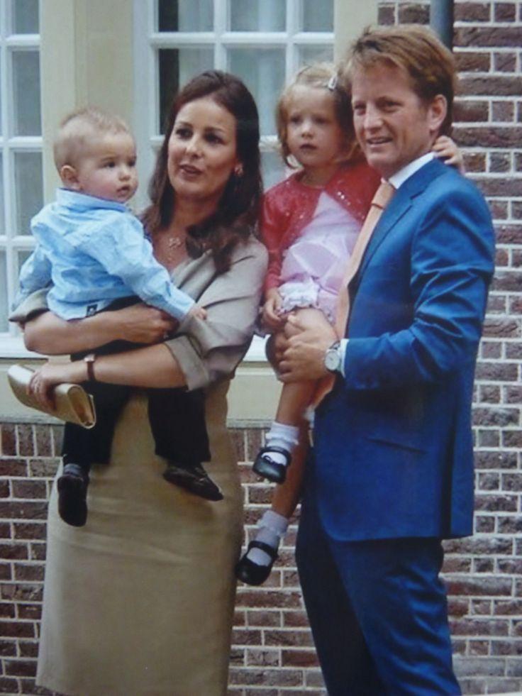 PC, Anita met hun 2 kinderen Emma en Pieter.