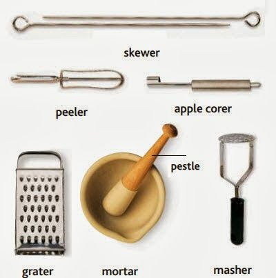 175 best images about ielts words on pinterest for Kitchen utensils vocabulary