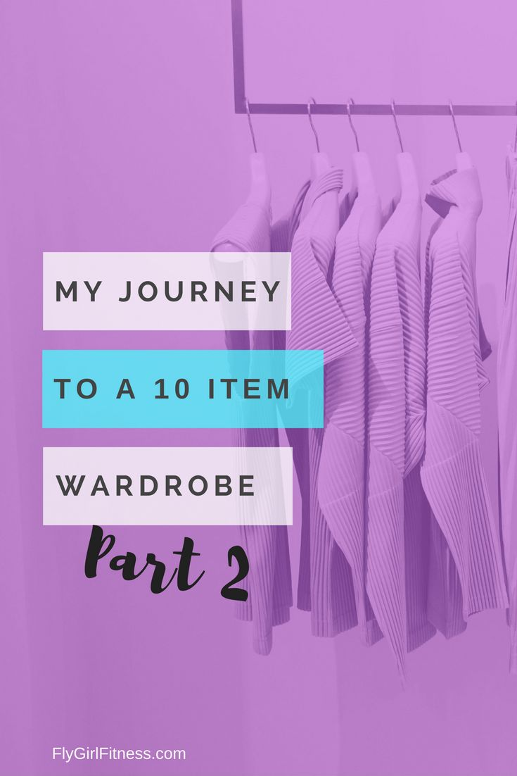 Guest Post – My Journey to a 10-Item Wardrobe Part 2