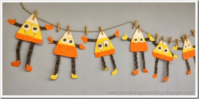 I can't stand candy corn but love these little guys. No directions in the post, but seems easy to do.