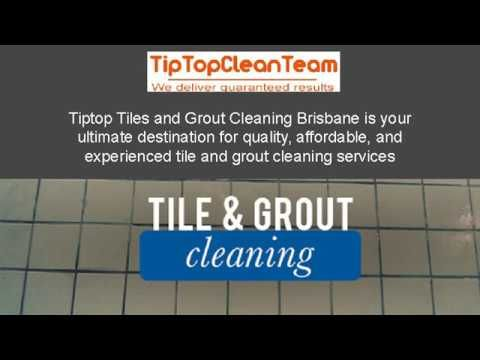 Affordable Grout Cleaning BrisbaneTip Top Clean Team's professional tile and grout cleaning services enable you to get your old and dirty tiles back to their original look and feel.