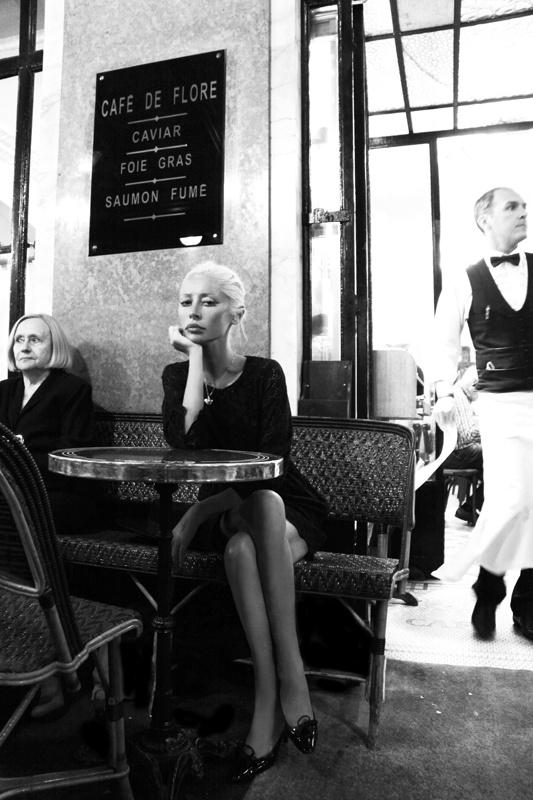 Wendy James. Cafe de Flore, Paris 2012