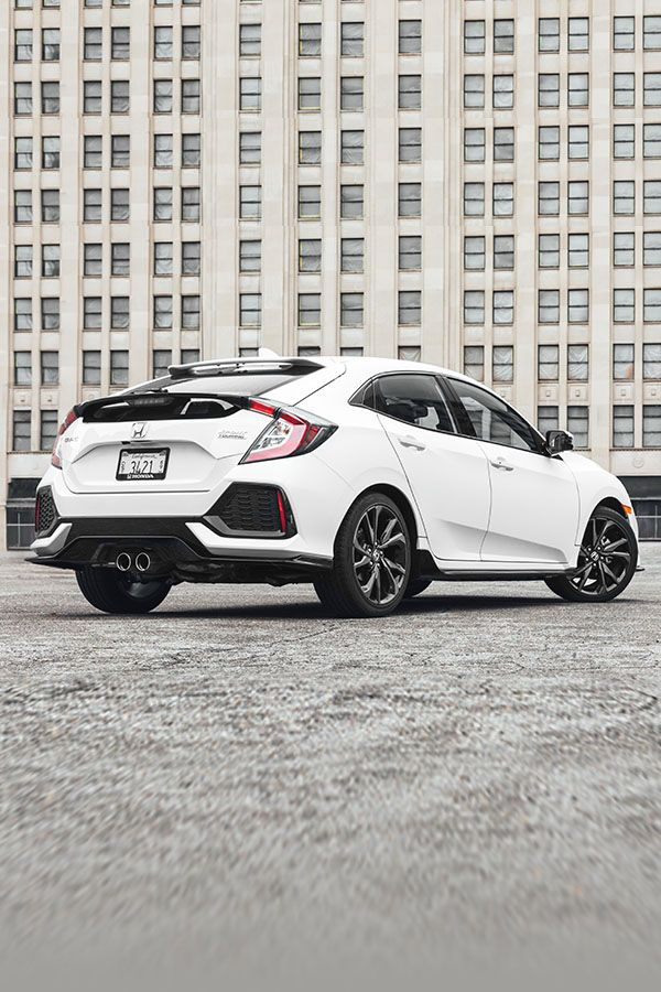 The Stylish Civic Hatchback Is Sporty And Versatile Equipped With A Turbocharged Engine This Hatchback Is B Civic Hatchback Honda Civic Honda Civic Hatchback