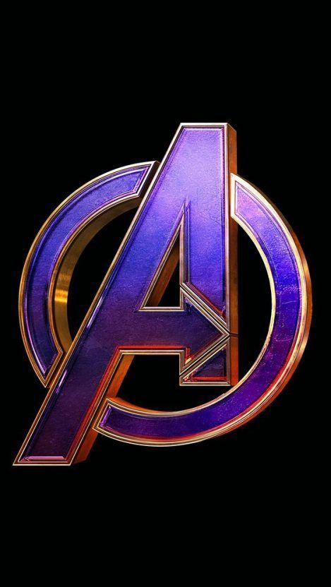 Avengers Endgame Logo Iphone Wallpaper Marvel Wallpaper