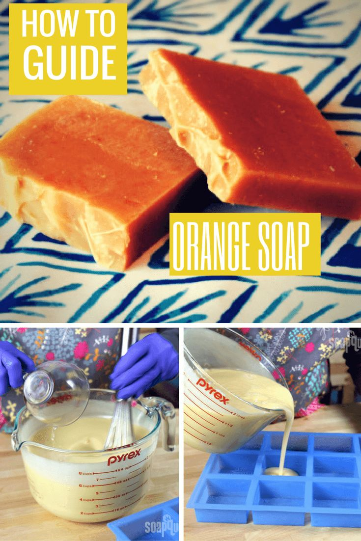 cool Easy Orange Cold Process Soap Recipe
