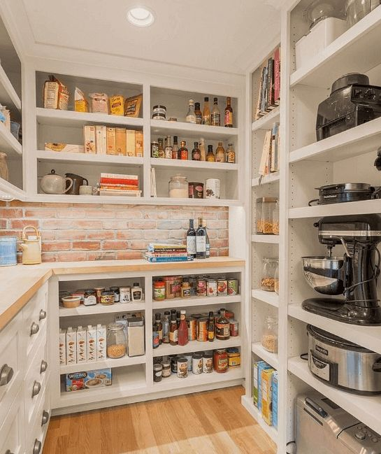 29 Kitchen Pantry Ideas to Organize Your Foods & Beverages ...