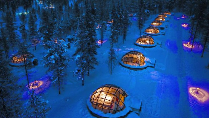 Iglu-Hotel in Lappland: Ab ins Bett, die Polarlichter-Show geht los - SPIEGEL ONLINE - Nachrichten - Reise
