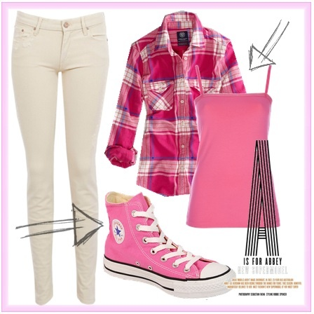 All Star Womens Pink Outfit Idea