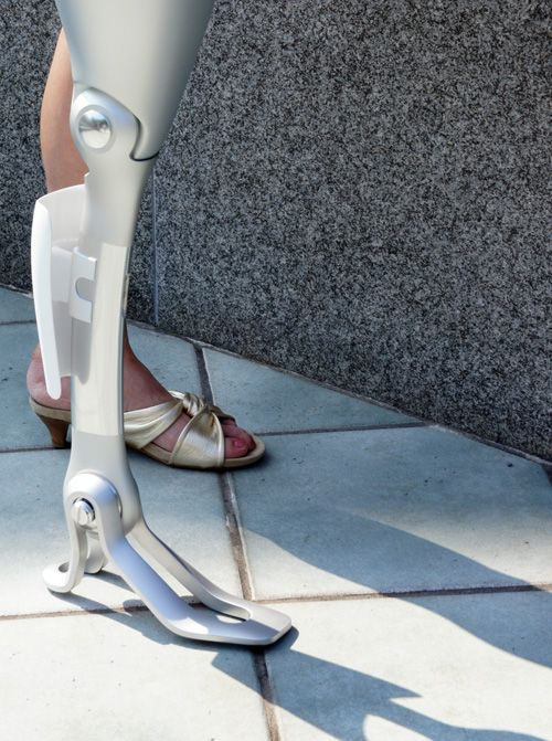Designer prosthetics are the coolest thing.      oh wow this is rad      yeah but it probably costs nearly an arm and a leg