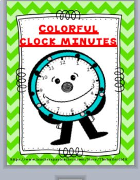 Enjoy these colorful Minute labels for your wall clock. There are three sets that include multi-colored, yellow, and red-dotted frilly frames. They are approximately 4 inches in diameter. There are optional labels that include o' clock, quarter past, half past, and quarter