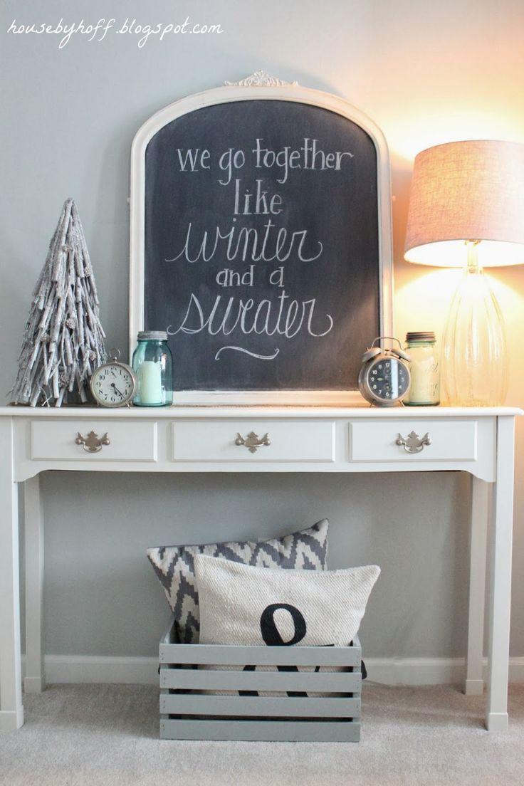 Updated Home Tour {January Decorating Recap} - House by Hoff