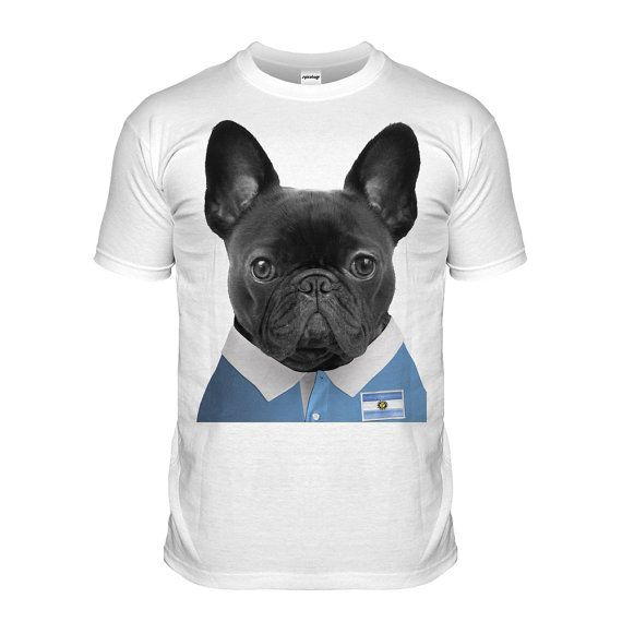 Argentina Rugby T-shirt Pug