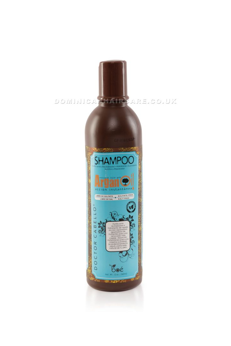 Dr Cabello Argan Oil Shampoo is a salt Free shampoo packed full of nutrients and vitamins to nourish dehydrated hair. Perfect Brazilian blow dry after care