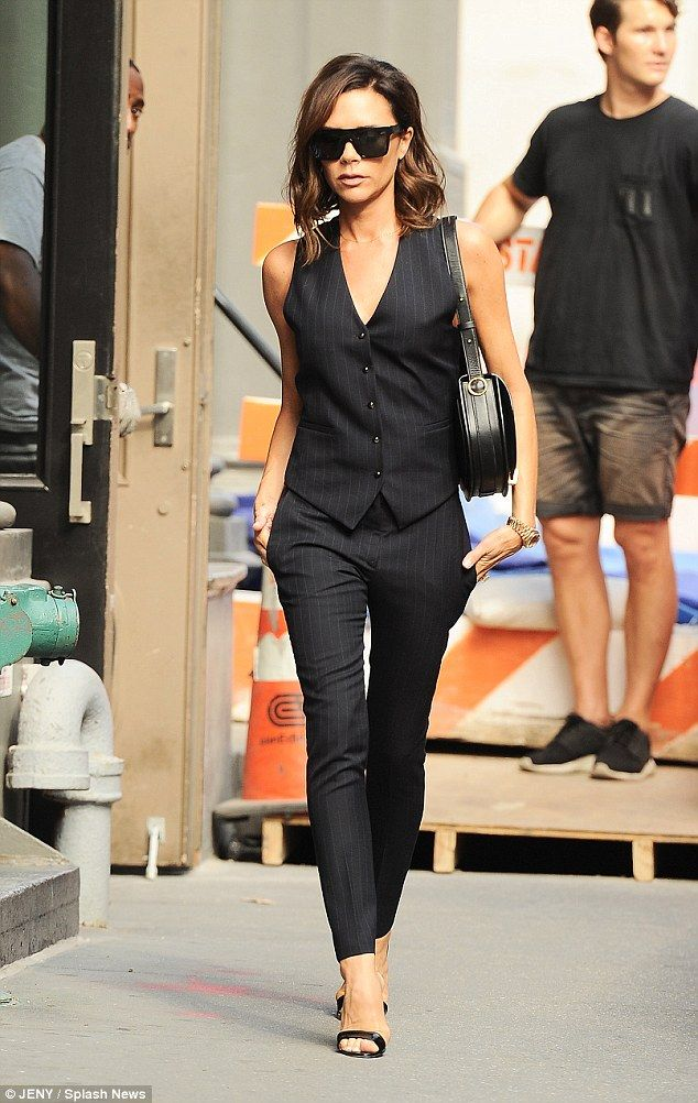 Fast forward 27 years: Victoria Beckham is now a pop star turned acclaimed fashion designer and style icon