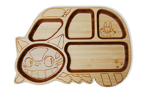 FUNFAM [ Ghibli Catbus ] Plate Set