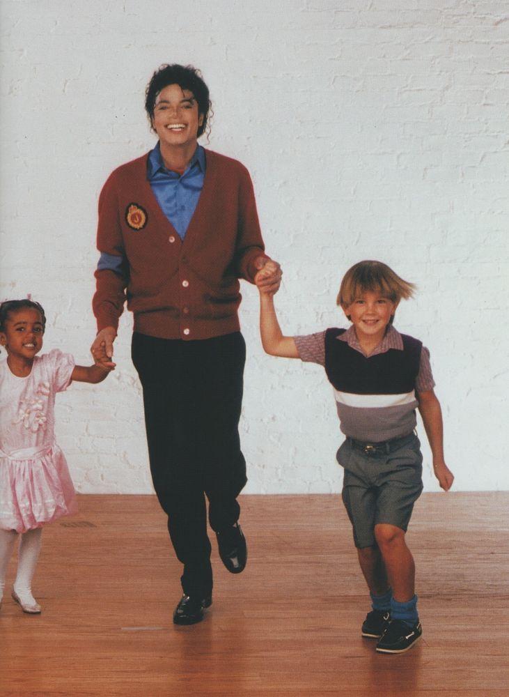 Michael Jackson Exclusive Very Rare Foto/Photo CHILDREN