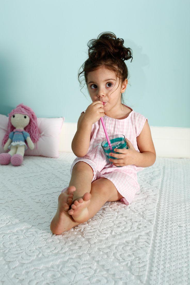 Nightgown for little girls /Yazlik cocuk geceligi