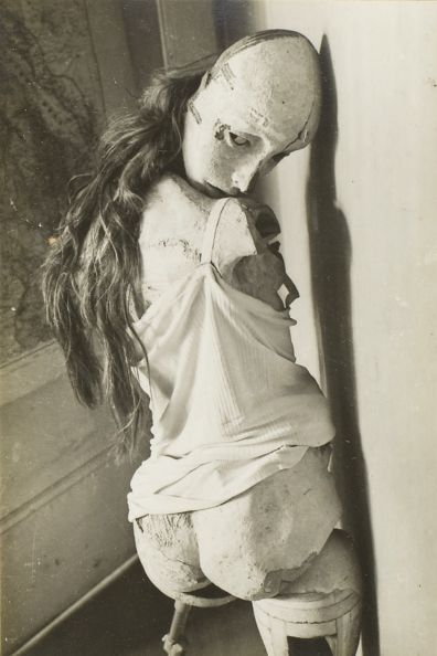 La Poupée, 1934, by Hans Bellmer.  Bellmer was best known for his series of life sized sculptures of pubescent girls (The Doll Collection) but in his spare time he faked passports for the French Resistance.