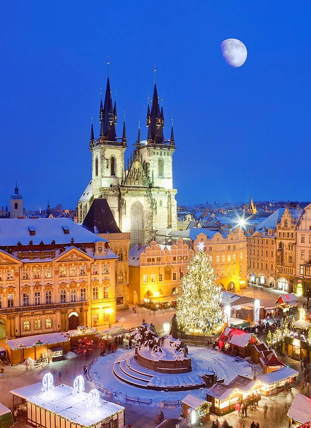 Image detail for -PRAGUE is one of those perfect romantic weekend getaways. The cobbled lanes and spire-studded medieval skyline resemble an enchanted fairytale kingdom. And the ...: