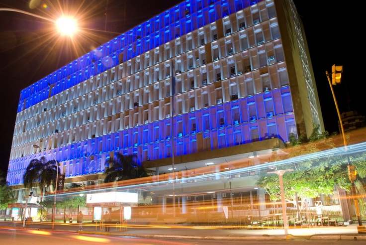 Casa de Gobierno - Resistencia, Chaco. Argentina.  LED LIGHTING DESIGN http://www.LedLd.blogspot.com.ar