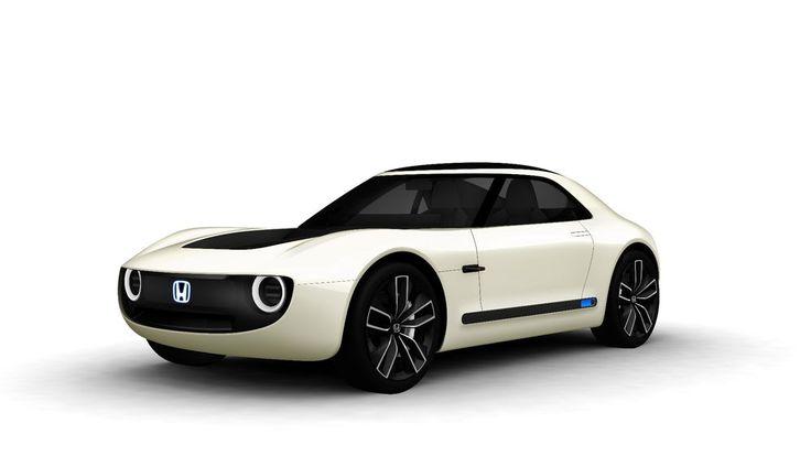 #Honda shows two electrifying EV concepts in Tokyo