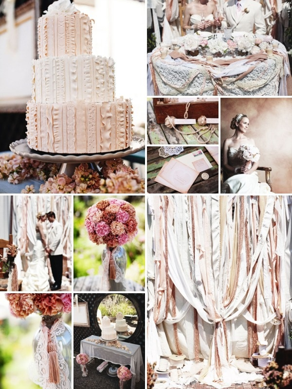 """Wedding Ribbons & Frills. So romantic ~ Very """"do-able"""""""