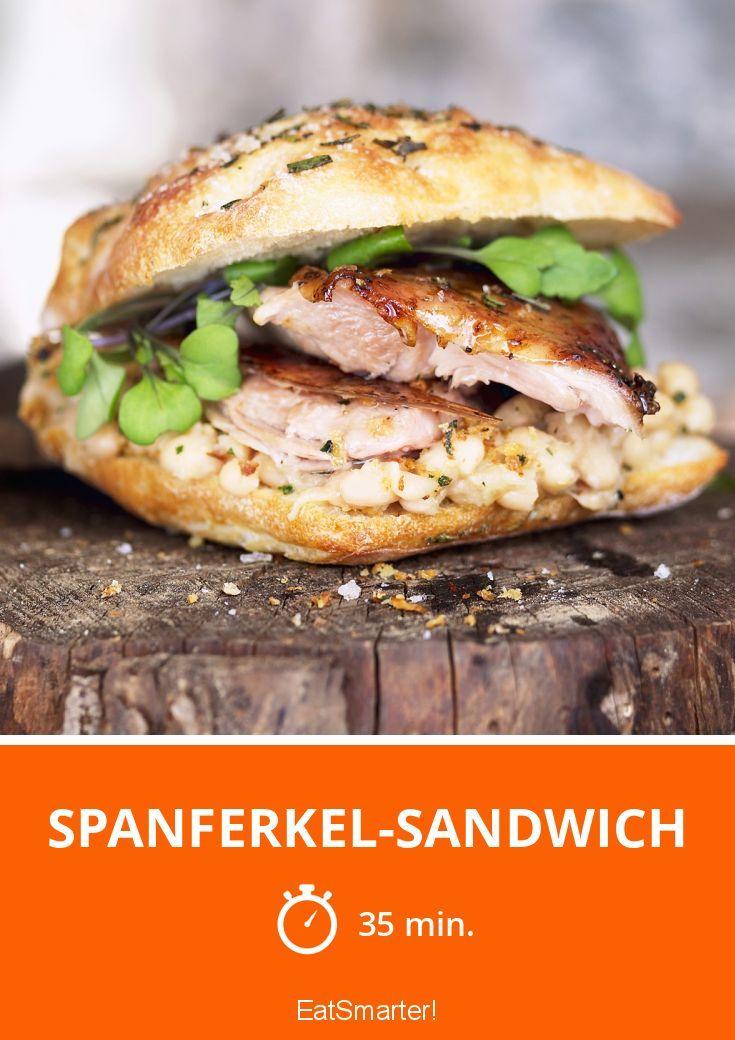 Spanferkel-Sandwich