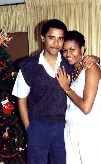 Barack and Michelle Obama - great photo <3