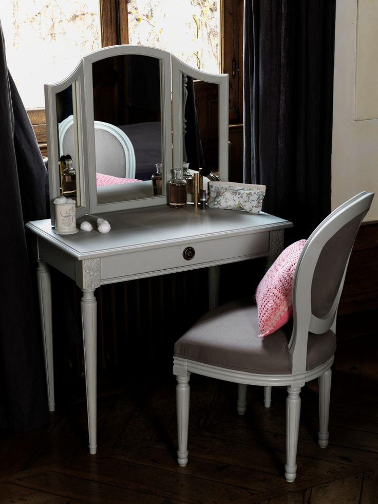 41 best Romantisme images on Pinterest Romanticism, Families and - meuble coiffeuse avec miroir pas cher