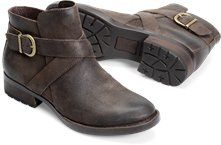 Børn TRINCULO in Marmotta (more colors available). A burnished buckle highlights…