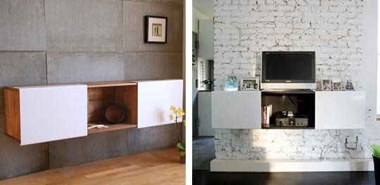 LAXseries Wall Mounted Storage by MASHstudios