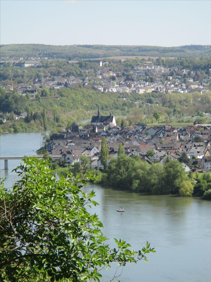 Rhein bei Koblenz