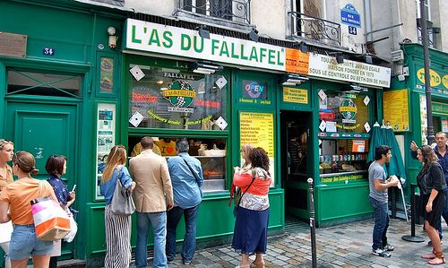 The Top 10 Foods You Have To Eat In Paris. L'as de fallafel