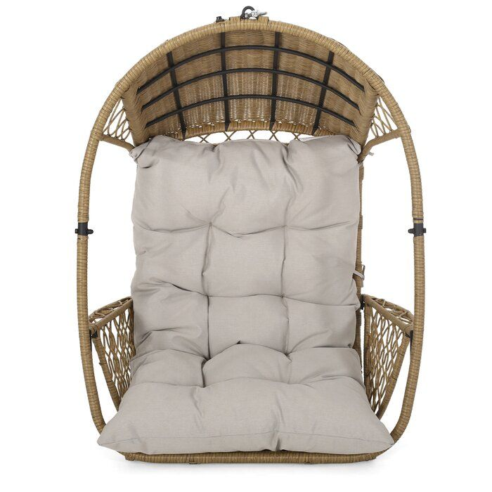 Berkshire Swing Chair With Cushion Swinging Chair Hanging Chair Outdoor Wicker