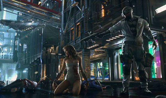 CD Projekt REDs Cyberpunk 2077 May Feature Flying Vehicles