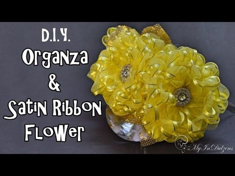 In this video I have shared making of this gorgeous flowers out of Organza and Satin mixed ribbon in a very easy and simple way. Attach…