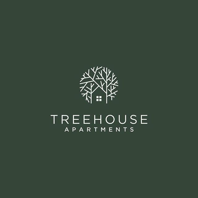 Logo inspiration: Treehouse Apartments by kodoqijo Hire quality logo and branding designers at Twine. Twine can help you get a logo, logo design, logo designer, graphic design, graphic designer, emblem, startup logo, business logo, company logo, branding, branding designer, branding identity, design inspiration, brandinginspiration and more.