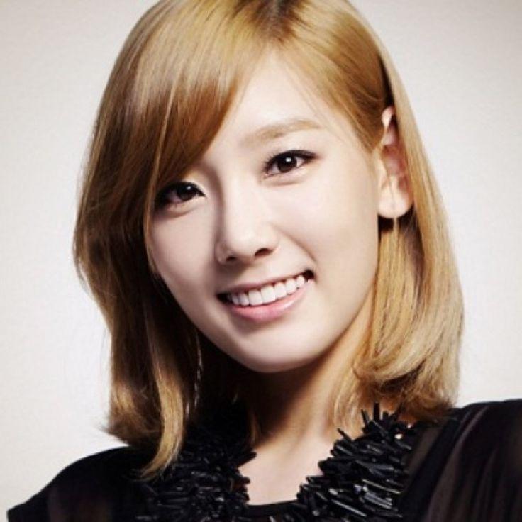 model rambut pendek berponi samping ala artis korea 2016