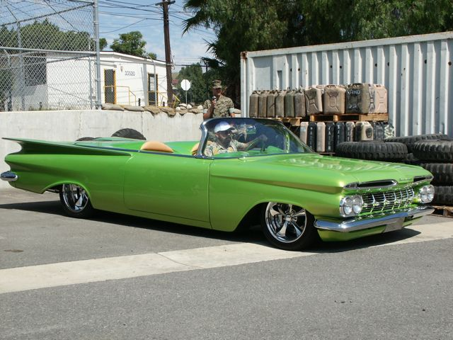 1959 Chevy Impala Convertible Custom.
