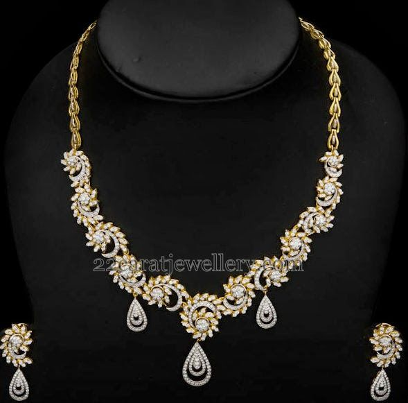 Jewellery Designs: Spectacular Diamond Necklaces