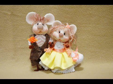 "Куклы из капрона ""Мышки"" / Dolls of nylon ""Mouse"" - YouTube"