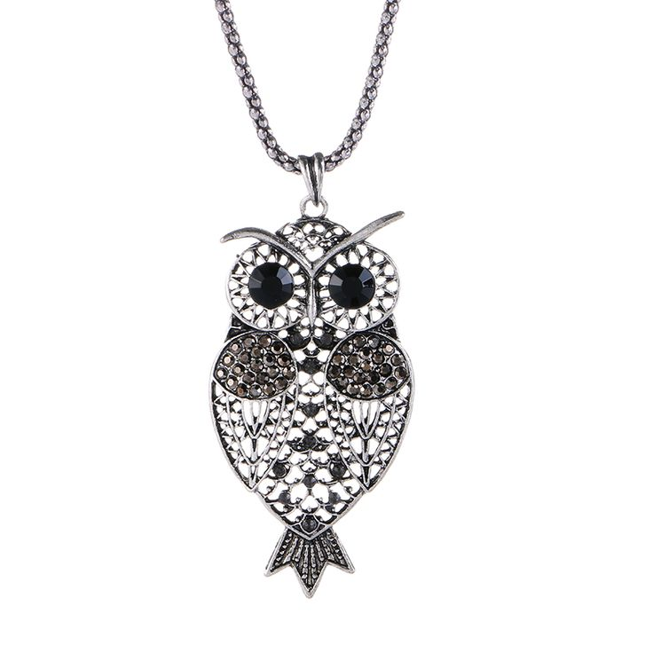 Cheap owl necklace, Buy Quality vintage owl necklace directly from China long necklace Suppliers: