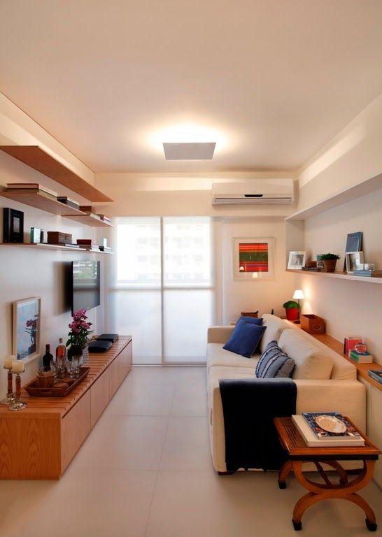 Oi,   Como os apartamentos estão cada vez menores, os profissionais e amantes da decoração (eu faço parte do segundo grupo) precisam além da...