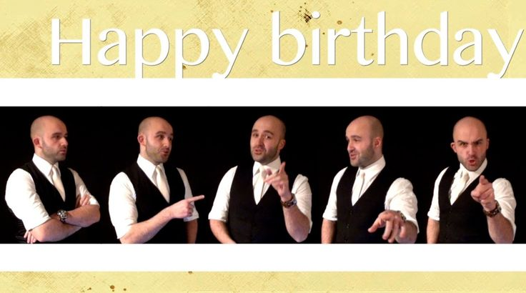 Happy birthday (*NSYNC) - A cappella / Sonny