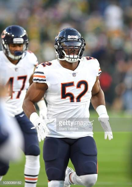 quality design 7c8ac afeef Khalil Mack | Chicago Bears | Bears football, Football ...