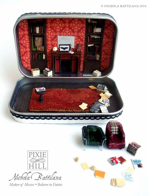 New and improved 221B Baker Street Altoid tin - Nichola Battilana
