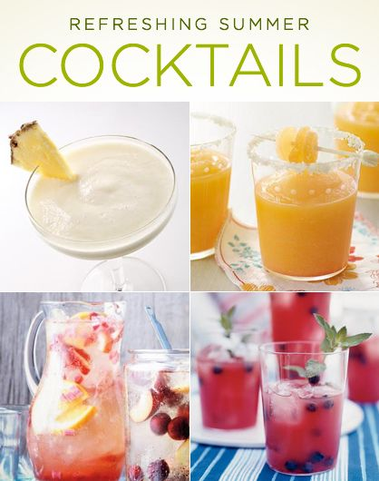 10 Refreshing Summer Cocktails
