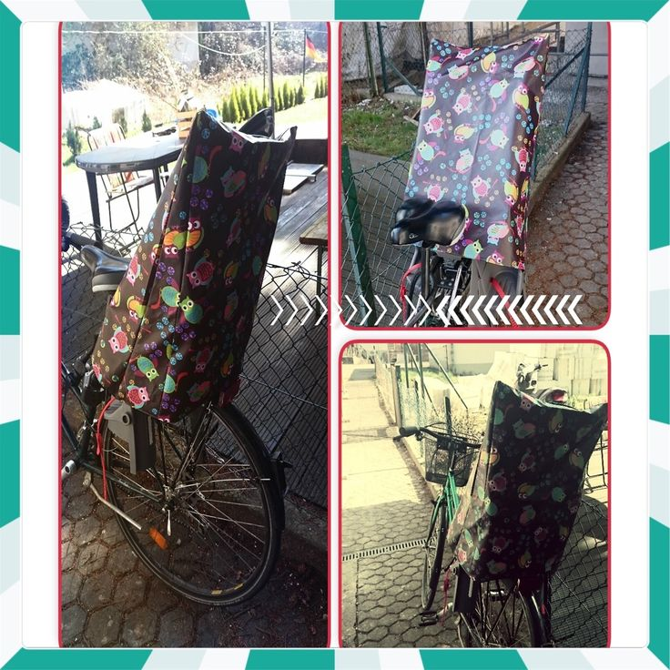 Mein erstes selbst geschneidertes Ein Regenüberzug  für meinen Römer Jokey Fahrradsitz. Mit einem schönen Eulen Stoff der extra beschichtet war, damit auch kein Regen durchkommt. - Oster Utensilos -  Mein zweites Projekt  Hier wollte ich für einige Kids der Familie  zu Ostern ne freude bereiten...