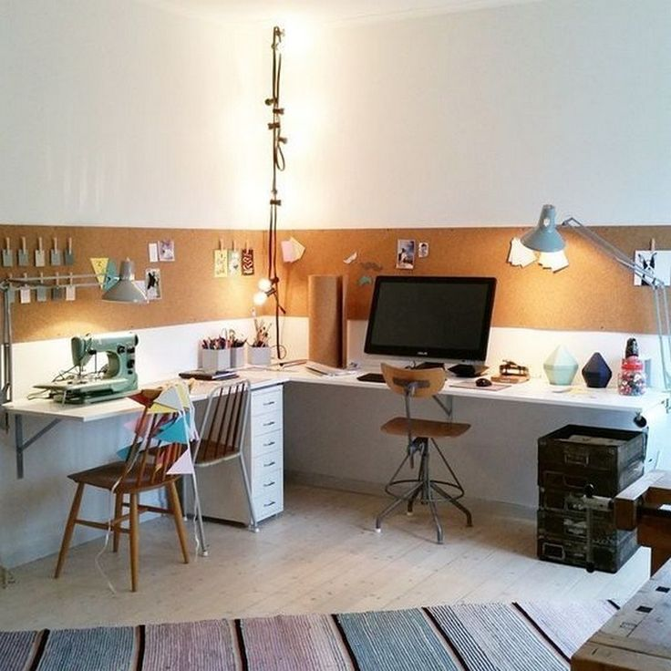 35 shocking home office with a cork wall 12 in 2020 cork on inspiring workspace with a cork wall creating a custom cork board for your home id=34538